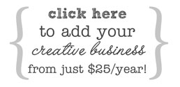 add your creative business