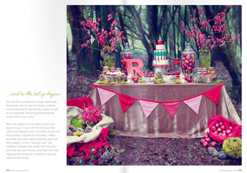 vintage red riding hood party