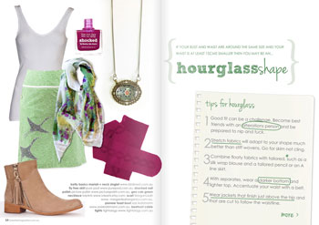 issue 12 dressing an hourglass shape