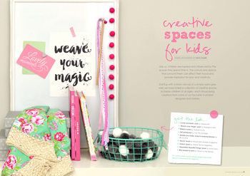 tickle the imagination magazine creative spaces for kids