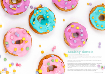 tickle the imagination magazine healthy donuts